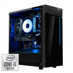 Ordenador Gaming Gigabyte Cristal 10TH i5 10400 / 16GB / 500GB SSD + 2TB / 700W / Freedos (Sin Windows)