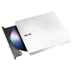 Grabadora DVD USB Asus SDRW-08D2S-ULite White
