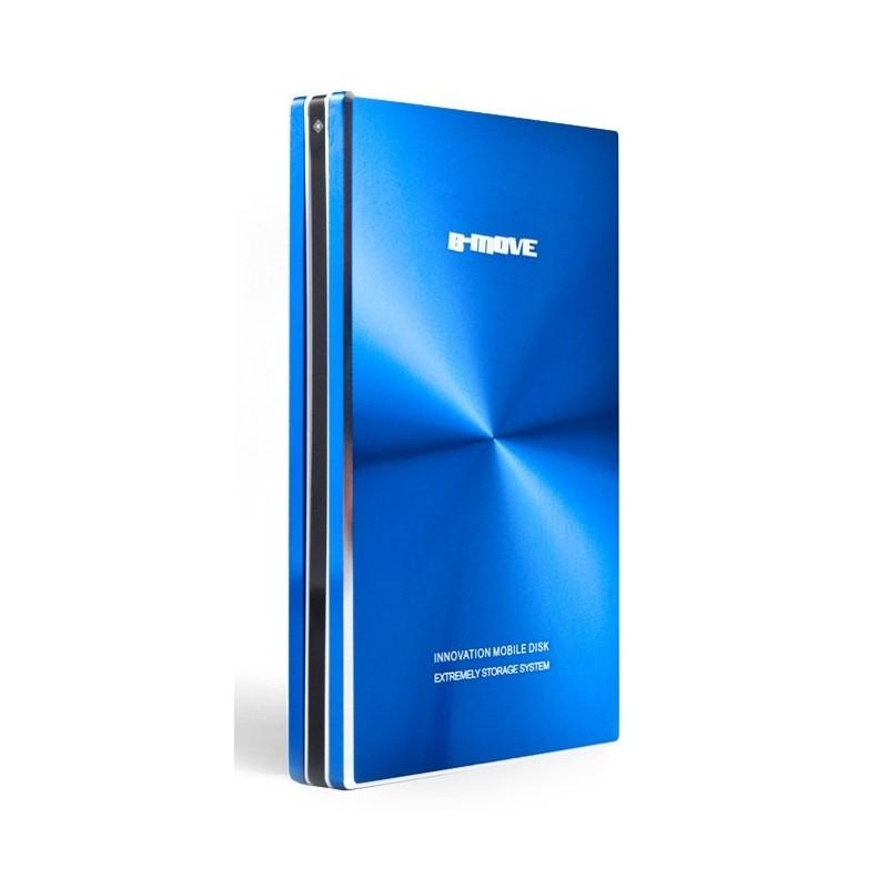 "USB Disk Box 2.5 ""SATA B-Move Blue Shelter"