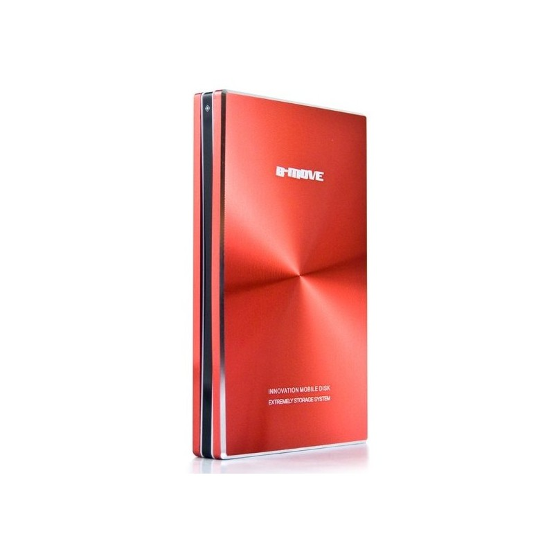 "USB Disk Box 2.5 ""SATA B-Move Shelter Red"