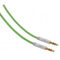 Cable Jack M 3,5mm a Jack M 3,5mm de 1,2 metros