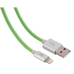 Cable USB AM - Lightning 1,2m Bluestork Verde