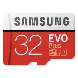 Tarjeta MicroSD 32GB HC Clase 10 Samsung Evo Plus
