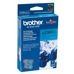 Tinta Brother LC980C Cian