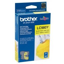 Tinta Brother LC980Y Amarillo