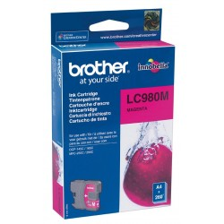 Brother LC980M Magenta Ink