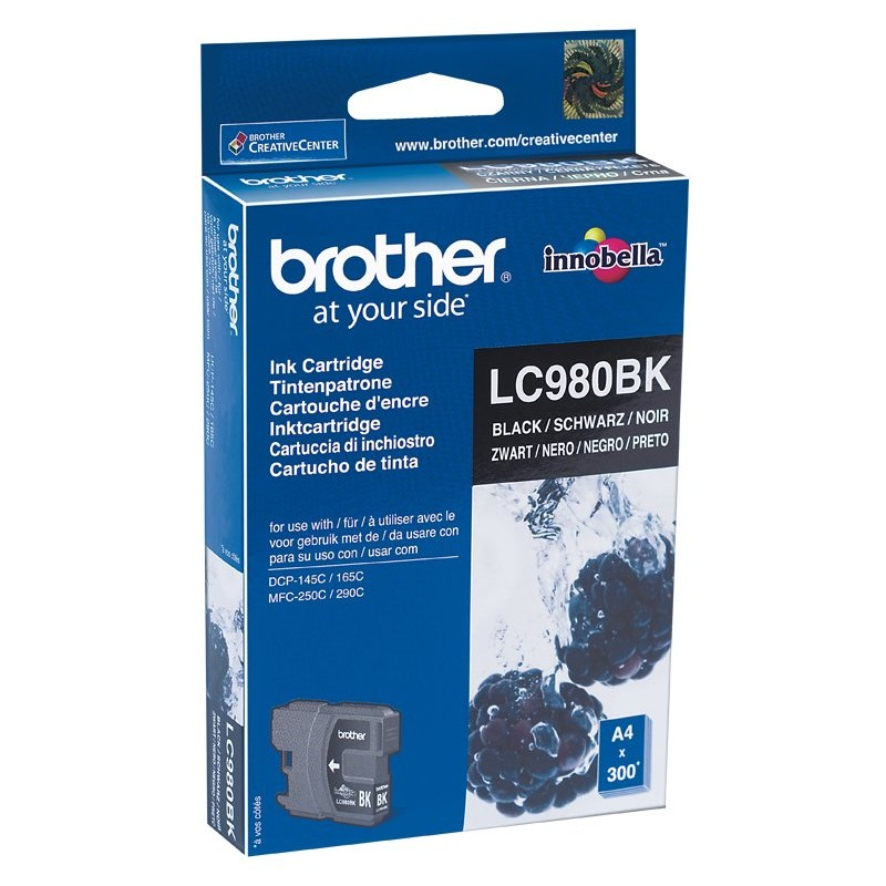 Brother LC980BK Black Ink