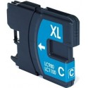 Compatible Ink Brother LC980 / 1100 Cian