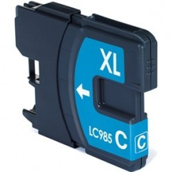 Compatible Brother LC985 Cyan Ink