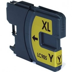Brother LC985 Yellow Ink Compatible