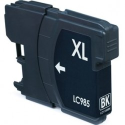 Brother LC985 Black Ink Compatible