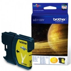 Tinta Brother LC1100Y Amarillo