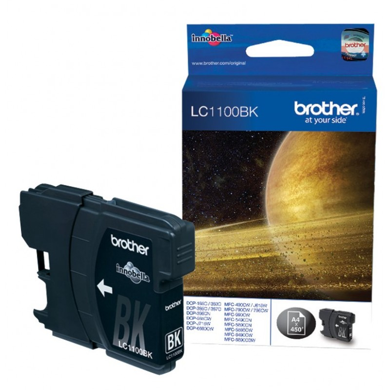 Brother Black Ink LC1100BK