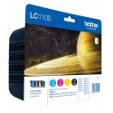 Tinta Brother LC1100 Pack de los 4 Colores