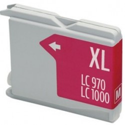 Compatible Ink Brother LC970 / 1000 Magenta
