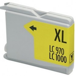 Tinta Compatible Brother LC970/1000 Amarillo