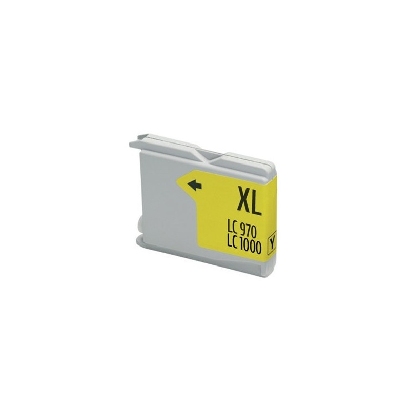 Compatible Ink Brother LC970 / 1000 yellow
