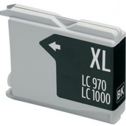 Compatible Ink Brother LC970 / 1000 Black