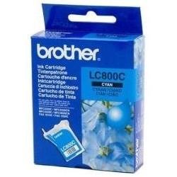 Tinta Brother LC800C Cian