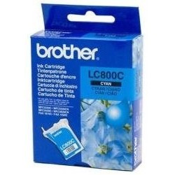 Tinta Brother LC800C Cian
