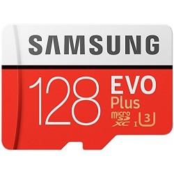 Tarjeta MicroSD 128GB HC Clase 10 Samsung Evo Plus