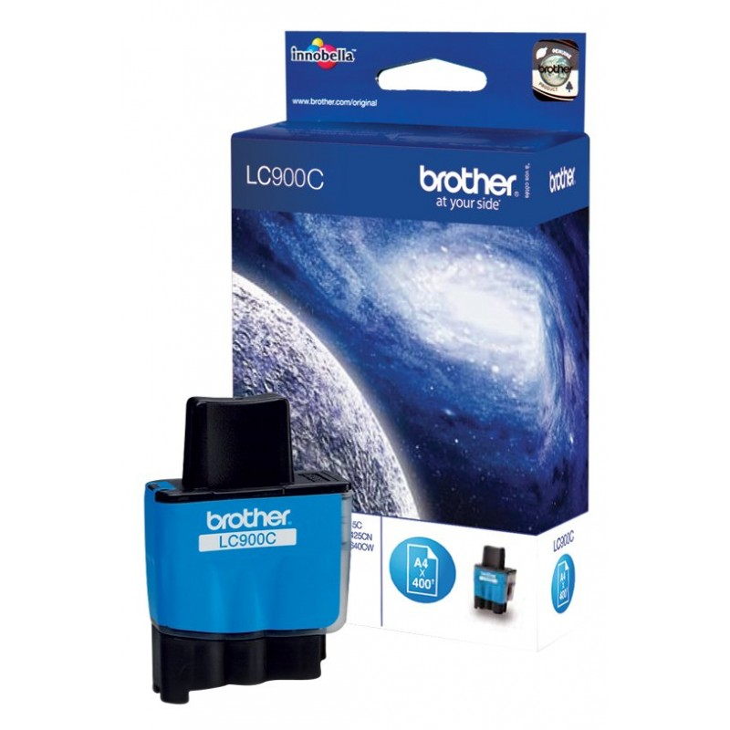 Tinta Brother LC900C Cian