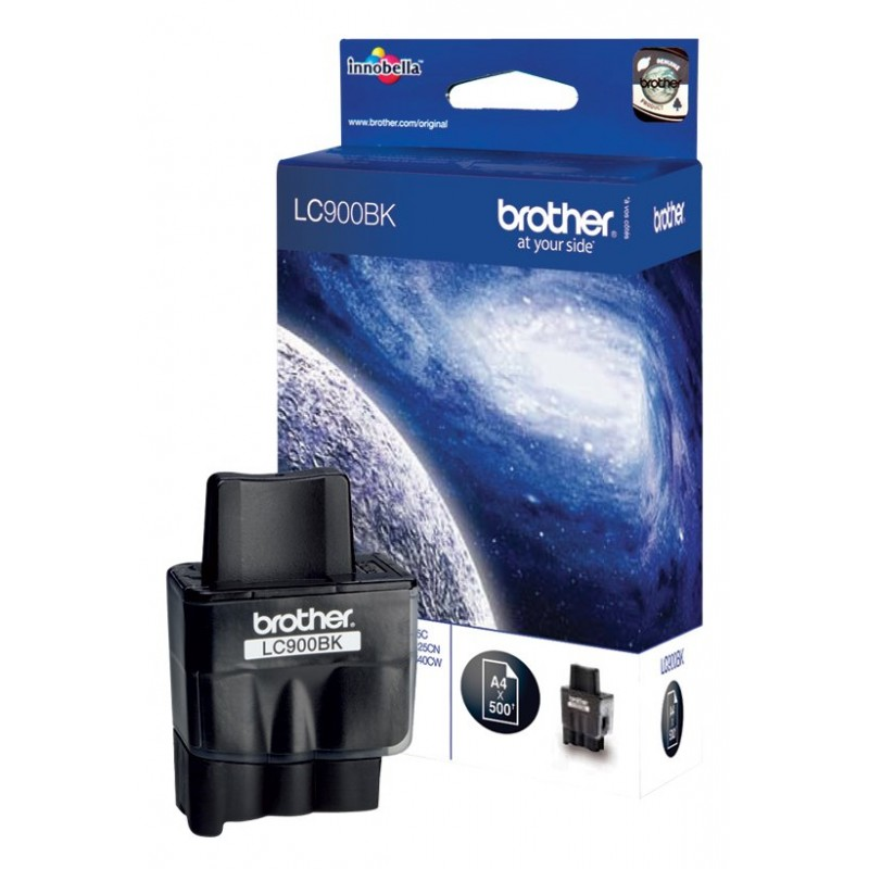 Brother LC900BK Black Ink