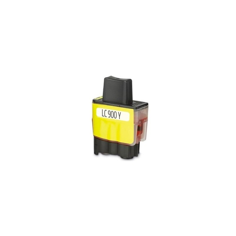 Brother LC900 Yellow Ink Compatible
