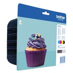 Brother LC123 ink pack 4 colors