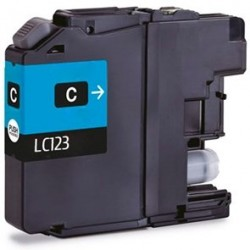 Compatible Brother LC123 Cyan Ink