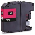 Compatible Brother LC123 Magenta Ink