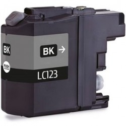 Brother LC123 Black Ink Compatible