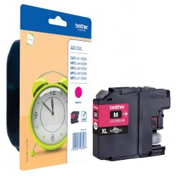 Brother Magenta Ink LC125XLM
