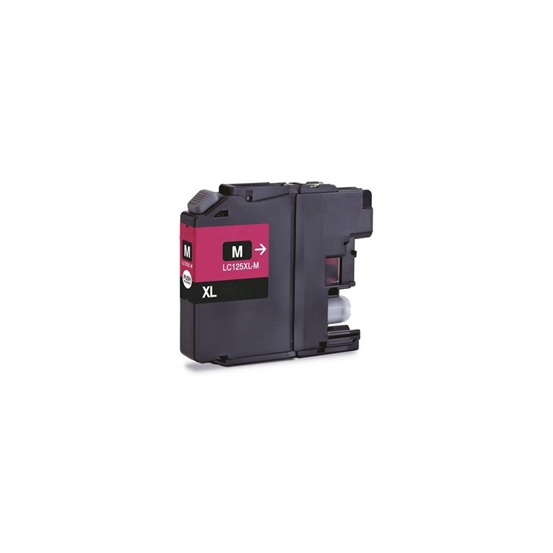 Brother Compatible Magenta Ink LC125XL