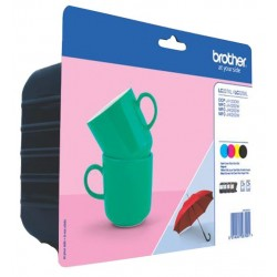 Tinta Brother LC227XL Pack de los 4 Colores