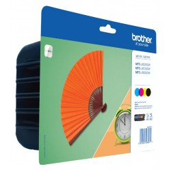Tinta Brother LC129XL Pack de los 4 Colores