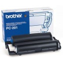 Bobina y Cartucho de Fax Brother PC201