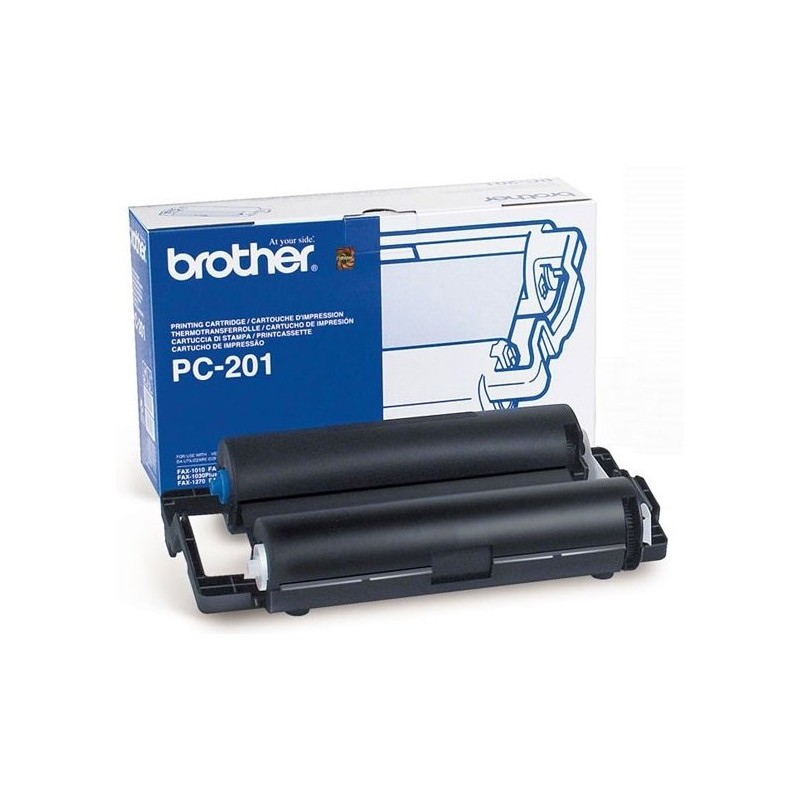 Coil and Brother PC201 Fax Cartridge
