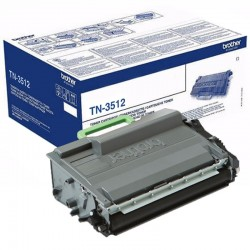Toner Original Brother TN3512 Negro
