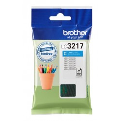 Tinta Brother LC3217C Cian