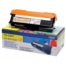 Brother TN320Y Yellow Toner