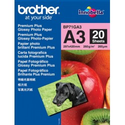 Papel Fotográfico A3 Brother Glossy Premium