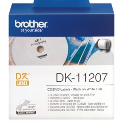 Labels for CD / DVD Brother DK-11207