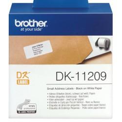 Etiquetas Brother DK-11209