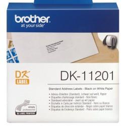 Etiquetas Brother DK-11201