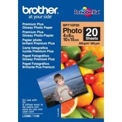 Papel Fotográfico 10x15 Brother Glossy 20 Uds