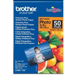Papel Fotográfico 10x15 Brother Glossy 50 Uds