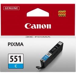 Tinta Canon CLI-551 Cian