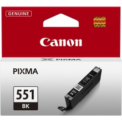 Tinta Canon CLI-551 Negro