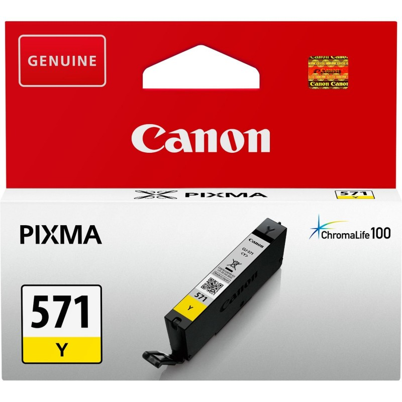 Tinta Canon 571 Amarillo CLI-571Y